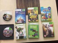 8 XBox360 Games