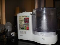 Braun Multipractic Blender/processor, good working order, with instruction booklet.