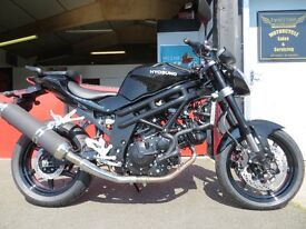 Brand New - 650cc Hyosung GT650P - £4399. Finance subject to status. 2 Years full warranty.