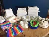 Complete Birth to Potty Terry Nappy set, everything you need to save hundreds of £££