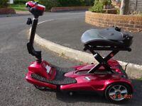 Self-Folding Mobilty Scooter