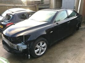 2007 Lexus Is 220D breaking for PARTS ONLY postage available nationwide