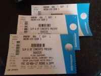 SQUEEZE TICKETS (3) GLASGOW ROYAL CONCERT HALL FRIDAY 3 NOVEMBER 2017