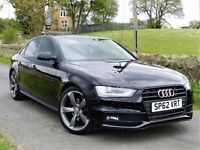 *12 MONTHS WARRANTY*(2012) AUDI A4 S LINE BLACK EDITION 2.0 TDI [START STOP] XENON - FSH - 19 ALLOYS