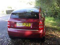 Audi A2, 2003, 1600 - SPARES OR REPAIR