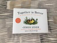 Simon Sinek signed book