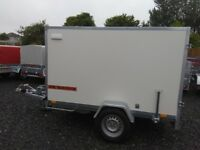 NEW TRAILER BOX single axle with brakes 250 cm X 150 cm X 150 cm