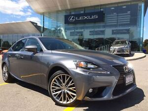 2015 Lexus IS 250 1 Owner Lthr AWD Btooth Sroof BUcam