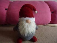 Brand New Martinex Finland Santa Claus 40cm Door Stopper