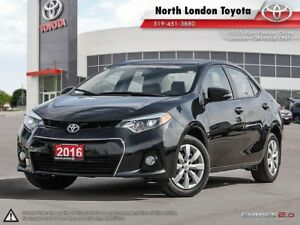 2016 Toyota Corolla S Sporty car without the sport price tag...
