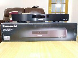 Panasonic DMP-BDT700 High end 4K Upscaling Blu-Ray Player (and high end power cord)