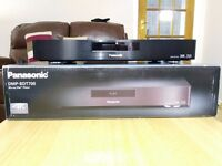Panasonic DMP-BDT700 High end 4K Upscaling Blu-Ray Player (and high end power cord)