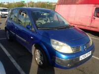 2004 Renault scenic 1.4 expression blue 5 Door