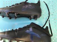 Boys size 1 turf football shoes addidas