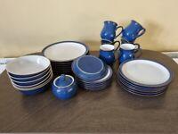 Denby Imperial Blue Tableware Set (Set of 6)