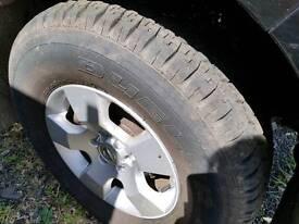 265/70R16 Bridgestone tyres