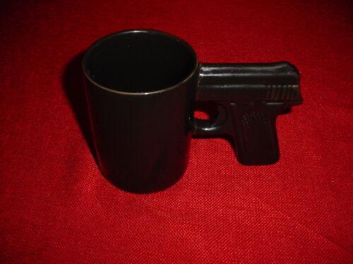 PISTOL GUN GRIP COFFEE TEA SOUP HOT CHOCOLATE MUG CUP TRUMP HOLDER ETC...NEW