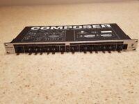 Behringer MDX 2100, Composer (Compressor Limiter Expander Gate)