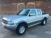 2005 FORD RANGER / DIESEL / PICKUP / DOUBLE CAB / LOW MILES / JULY MOT .