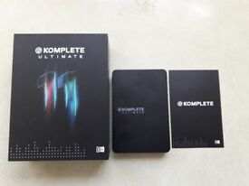 Native Instruments Komplete11 Ultimate,original box w/hard drive license number