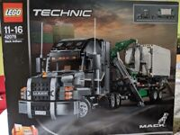 Brand new, unopened Lego Technic Mack Anthem Truck 11-16 years old