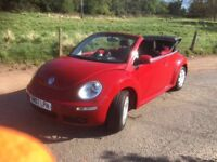 *** Volkswagen Beetle convertible swap px car van ****
