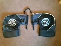 Oxford bone dry motorcycle gloves