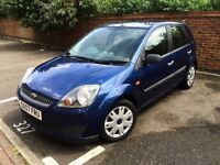 Ford Fiesta Style 1.2 with low milage (long MOT)