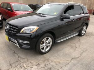 2015 Mercedes-Benz M-Class ML 350 BlueTEC, Navigation, Leather,