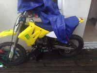 Suzuki rm85 bigwheel 07 model