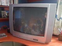 "TV for sale 21.6"" screen- old school TV"