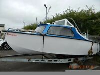 Shetland 498 16ft Boat ( Free Spirit) with Trailer