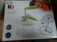 Multi Function Vegetable and Salad Grater / Slicer / Shredder