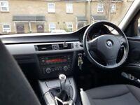 BMW 318I 2007 ,LOW MILLAGE , FULL SERVICE , 2 KEYS , 3 OWNERS, £3450 .. URGENT SALE ...