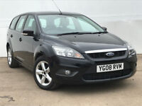 2008 FORD FOCUS 1.6 TDCI 109 ZETEC DIESEL ESTATE 2 OWNERS FROM NEW