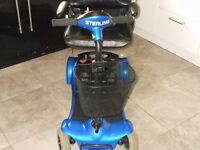 sterling little gem boot scooter good batteries lovely condition £255 or best offer