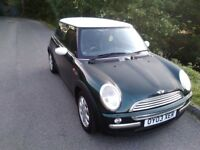 MINI COOPER with full BMW main agent history