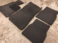 GENUINE BMW E30 Mats - Full Set - Great Condition - Dark Blue