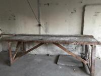Large Wood Workbench