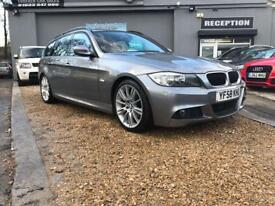 BMW 3 SERIES 2.0 320D M SPORT TOURING 5d 175 BHP (grey) 2008