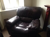 Recliner leather chairs real deal