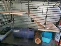 Hamster cage/gerbillarium