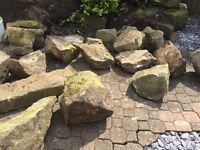DECORATIVE ROCKS AND BOULDERS FOR THE GARDEN OR VERGES
