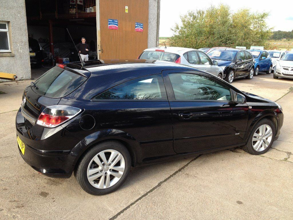 57 PLATE VAUXHALL ASTRA 1.6 SXI 3DR IN BLACK 69000MILES FSH £2850
