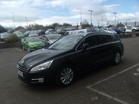 2011 61 PEUGEOT 508 2.0 HDI SW SR FAP 5D 163 BHP **** GUARANTEED FINANCE **** PART EX WELCOME ****
