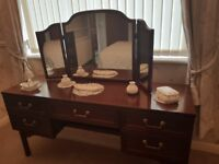 G Plan Dressing Table with mirror.
