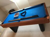 6'x 3' Deluxe Riley Pool and Table Tennis Set for Sale