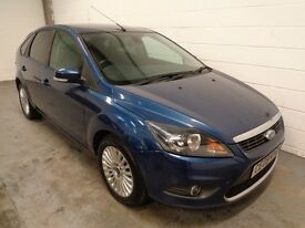 FORD FOCUS DIESEL , 2009 REG , LOW MILES + HISTORY , SAT NAV, YEARS MOT, FINANCE AVAILABLE, WARRANTY