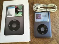 120 GB Apple iPod Classic 120 GB 6th generation Original Genuine MP3 player