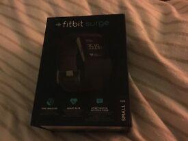 Fitbit surge brand new in box £90 tel frank 07788541649